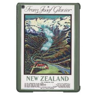 Poster del viaje del vintage del glaciar de carcasa iPad air