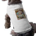 Poster del viaje del vintage del Invierno-Deporte  Camisas De Perritos