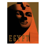 Poster del viaje del vintage, Egipto, África con l