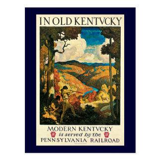 Poster del viaje del vintage, en Kentucky viejo, Tarjetas Postales