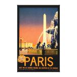 Poster del viaje del vintage impresiones en lona estiradas