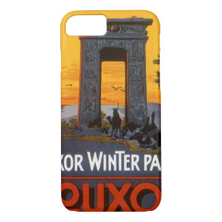 Poster del viaje del vintage, palacio del invierno funda iPhone 7