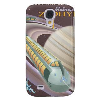 Poster del viaje espacial a Saturno Samsung Galaxy S4 Cover
