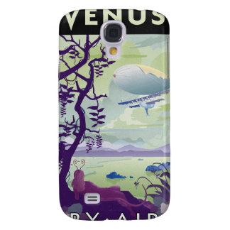 Poster del viaje espacial al venus carcasa para galaxy s4