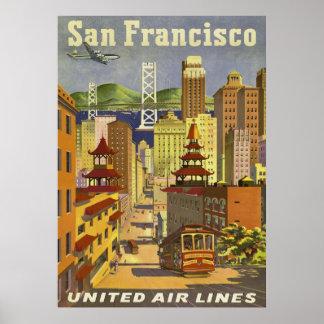 POSTER del viaje, San Francisco