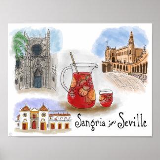 Poster del viaje: Sangría en Sevilla España