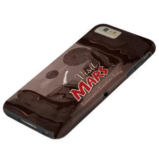 Poster del vintage de Marte de la visita Funda De iPhone 6 Plus Tough