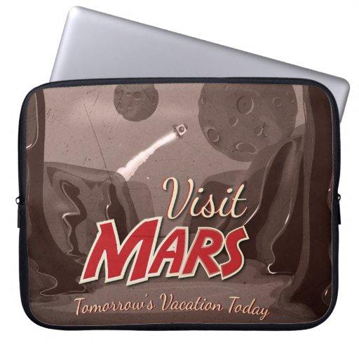 Poster del vintage de Marte de la visita Manga Computadora