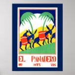 Poster del vintage - EL Panadero