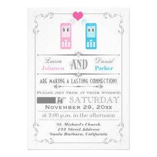 Poster del vintage invitación del boda del amor d