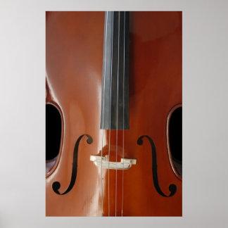 Poster del violoncelo