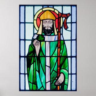 poster del vitral de St Patrick