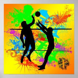 Poster del voleibol póster