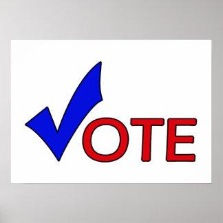 Poster del voto