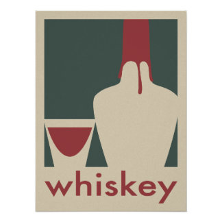 Poster del whisky