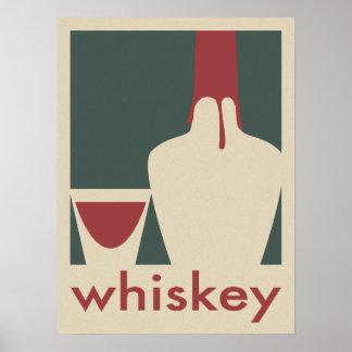 Poster del whisky