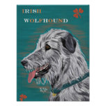 Poster del Wolfhound irlandés