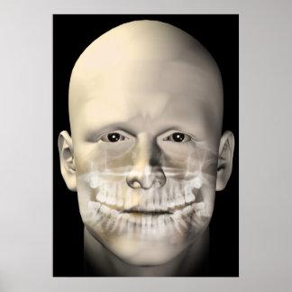 poster dental masculino de la exploración