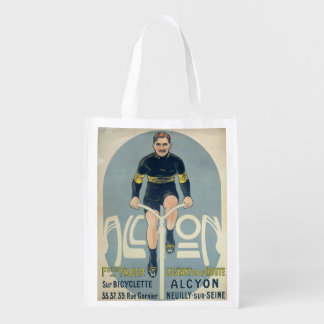 Poster depicting Francois Faber Grocery Bags