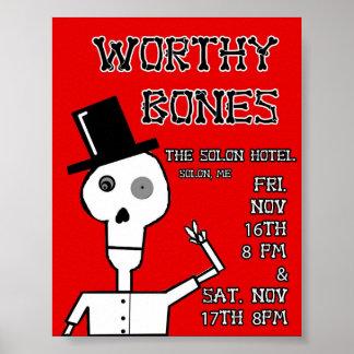 Poster digno del hotel del Solon de los huesos