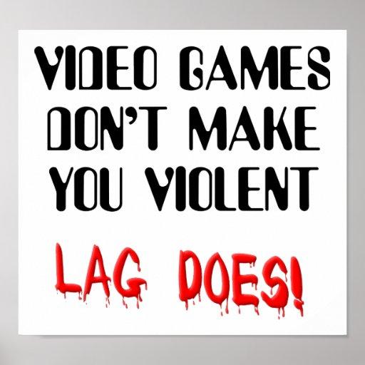 Poster divertido de la muestra de la violencia del