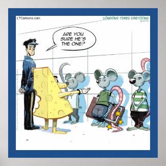 Poster divertido de Rick Londres de los crímenes