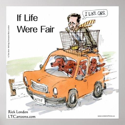 Poster divertido de Rick Londres de los setteres i