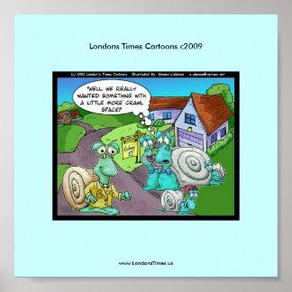 Poster divertido del dibujo animado de las ventas