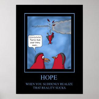 Poster divertido: Poster de la esperanza