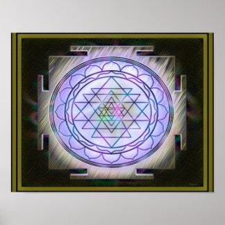 Poster divino de Sri Yantra13