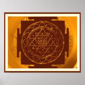 Poster divino de Sri Yantra2
