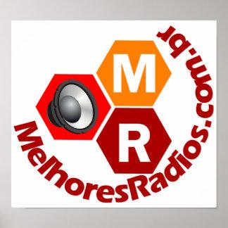 Poster do portal Melhores Rádiosq