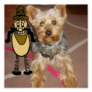"""POSTER """"dog and bob"""""""