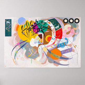 Poster dominante de la curva de Kandinsky