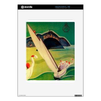 Poster Donostia San Sebastián del viaje del Calcomanías Para iPad