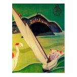 Poster Donostia San Sebastián del viaje del Tarjeta Postal