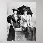 Poster:  Dos mujeres del Victorian, 1898