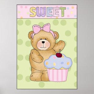 Poster dulce de la magdalena
