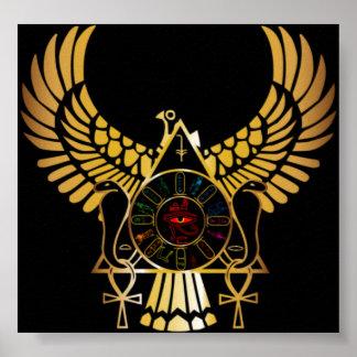 Poster egipcio de la imagen
