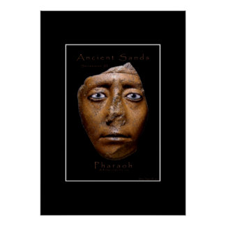 Poster egipcio del arte de la cara del Pharaoh