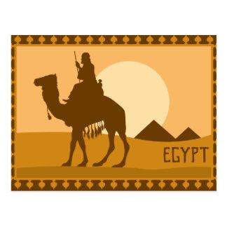 Poster egipcio tarjetas postales