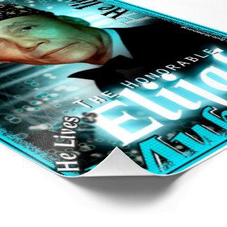Poster: Elijah Muhammad Lives Poster