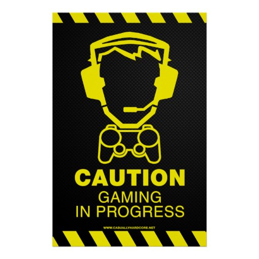 Poster en curso del juego - friki del videojugador