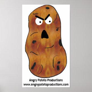 Poster enojado #1 de la patata