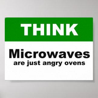 Poster enojado de los hornos