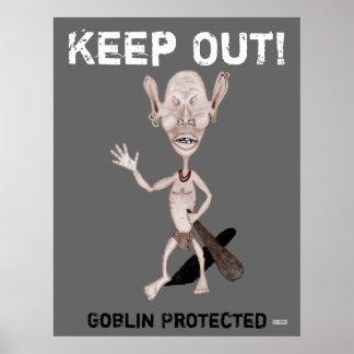 Poster enojado del Goblin