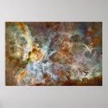 Poster enorme de la astronomía de la nebulosa de C