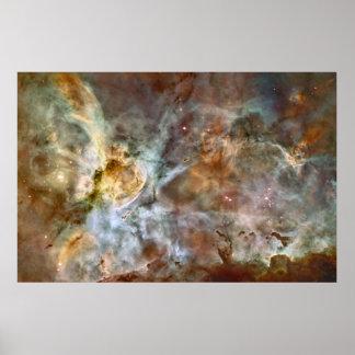 Poster enorme de la astronomía de la nebulosa de C Póster