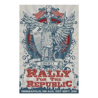 Poster enorme de la reunión de LibertyManiacs