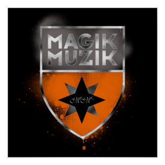 Poster enorme de Magik Muzik